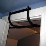 Exercise while on travel: chin-up / pull-up  bar