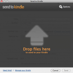 Send files from your computer to your Kindle with SendToKindle