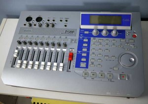 New life for a Korg D1200 Digital Recording Studio