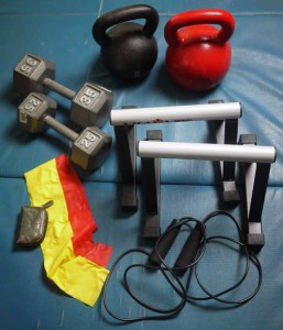 An Inexpensive Complete Home Gym