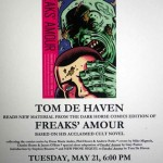 New Dark Horse graphic novel Freaks' Amour reading by Tom de Haven