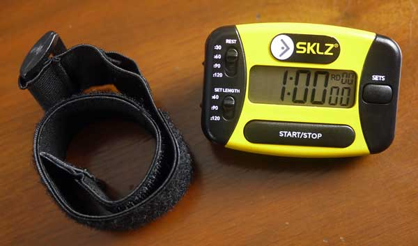 review sklz workout interval circuit timer writing, research