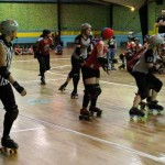 ROLLER DERBY! Mother State Roller Derby vs Little City Rollergirls