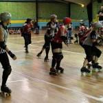 ROLLER DERBY! Mother State Roller Derby vs Little City Rollergirls