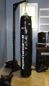How to stuff a heavy bag