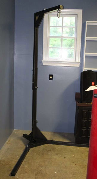 Hbs Completed Heavy Bag Stand