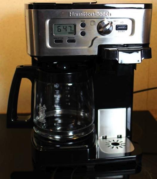 hamilton beach flexbrew unit 600 Coffee Maker One Cup No Pods