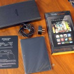 Unboxing and look at the Kindle Fire HDX 7″ tablet computer
