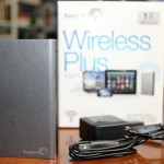 Unboxing and look at the Seagate Wireless Plus external hard drive with wifi