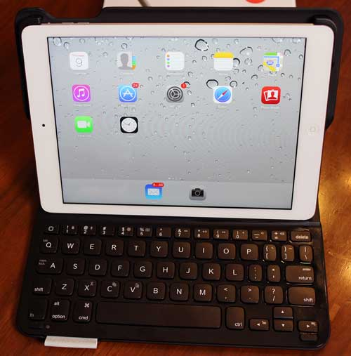 Review Logitech Ultrathin Keyboard Folio For Ipad Air