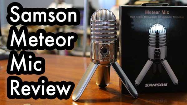 review samson meteor usb microphone kendall giles. Black Bedroom Furniture Sets. Home Design Ideas