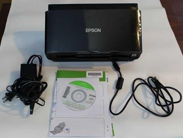 epson wp-4530 scanning multiple page pdf