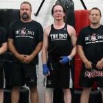 Kendall Giles black belt test