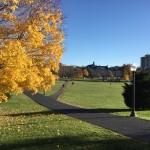 Virginia Tech campus, fall 2014