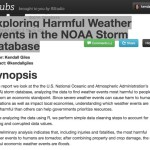 exploring harmful events in the noaa storm databse kendall giles