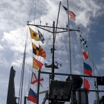 flags on the yp707