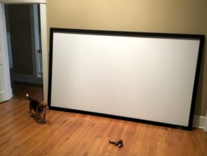 Review: QualGear 120-Inch Fixed Frame Projection Screen