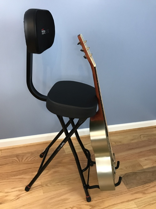 Review Gator Frameworks GFWGTRSEAT Acoustic Guitar Stand