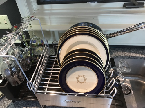 Review Sabatier Expandable Dish Rack Exploring The TechnoSlipstream Extraordinary Sabatier Expandable Dish Rack With Soft Touch Coating