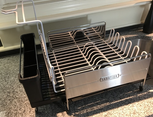 Review Sabatier Expandable Dish Rack Exploring The TechnoSlipstream Inspiration Sabatier Expandable Dish Rack With Soft Touch Coating