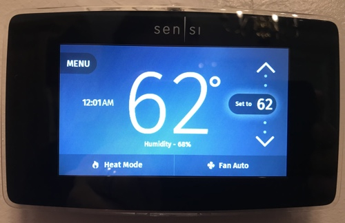 Review: Emerson Sensi Touch Wi-Fi Thermostat | Writing, Research
